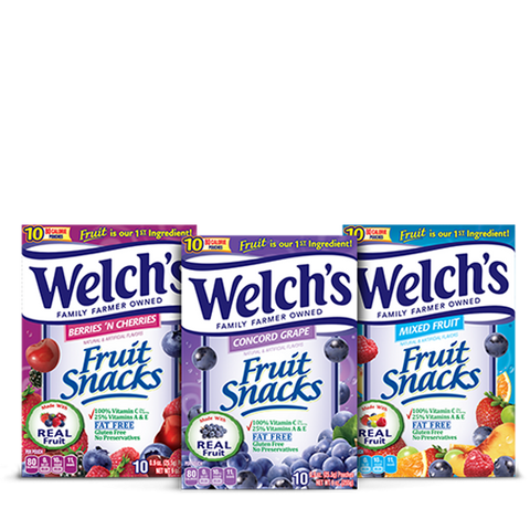 welches fruit snacks best snack