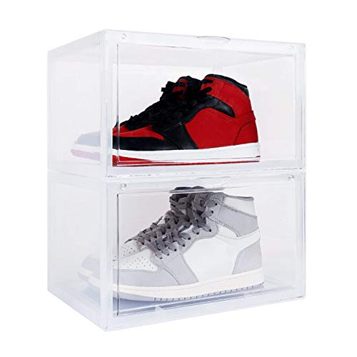 3pcs Transparent Shoe Box