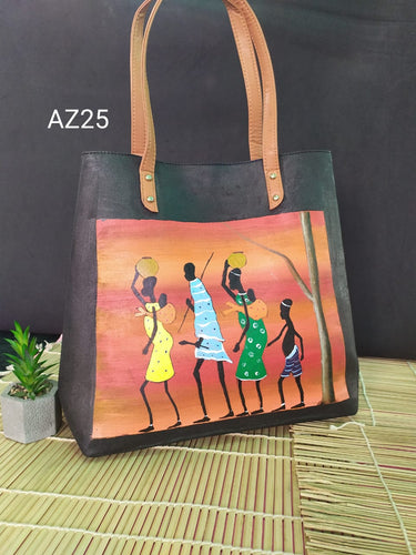 Handpainted Tote Bag