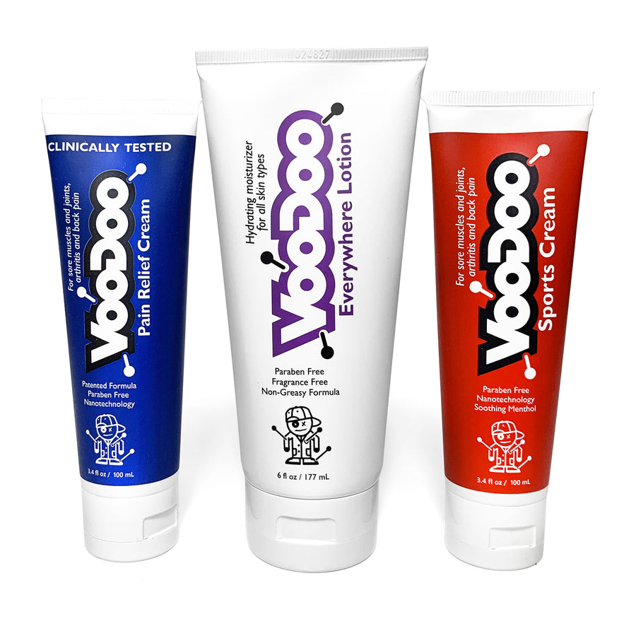 3-pack Pain Relief Cream, Sports Cream, Everywhere Lotion