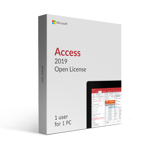 Microsoft Microsoft Access 2019 Open License