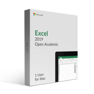 Microsoft Microsoft Excel 2019 For Mac Open Academic