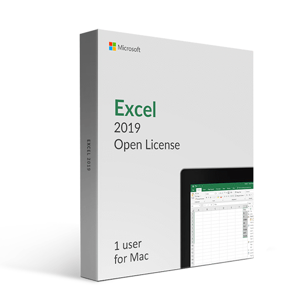 Microsoft Microsoft Excel 2019 For Mac Open License