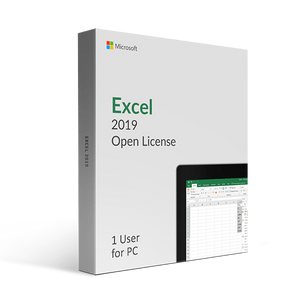 Microsoft Microsoft Excel 2019 Open License