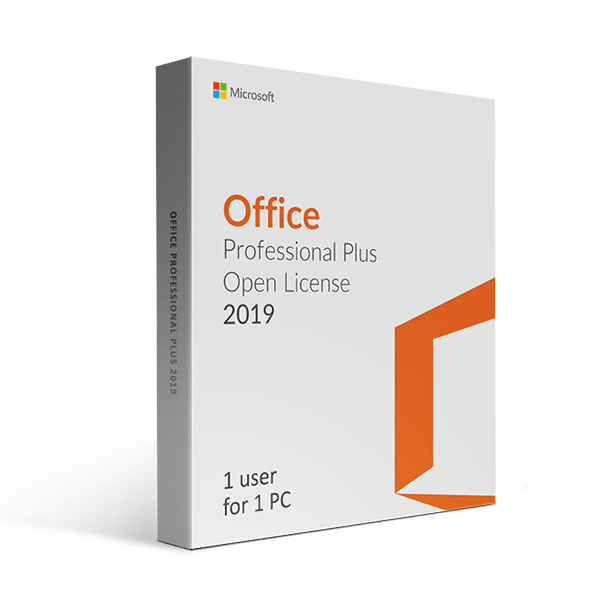 Microsoft Office 2019 Professional Plus Open License