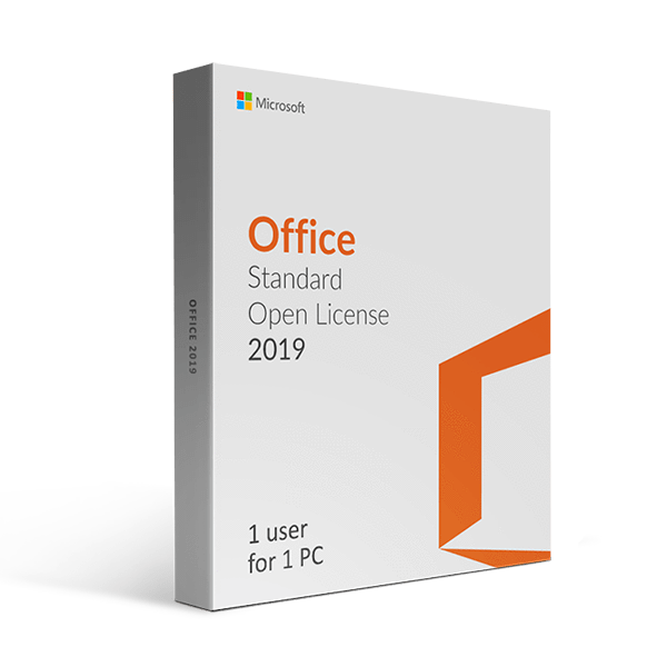 Microsoft Microsoft Office 2019 Standard Open License