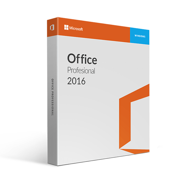 Microsoft Office Professional 2016 License