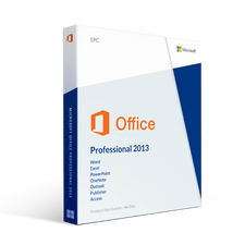 Microsoft Microsoft Office Professional Plus 2013 License For 2 Pc