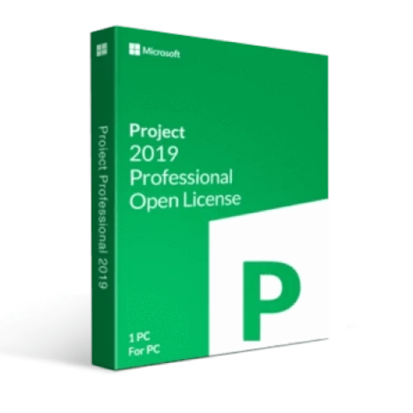 Microsoft Microsoft Project 2019 Professional W/ 1 Server Cal Open License