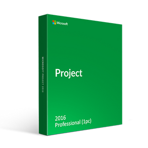 Microsoft Microsoft Project Professional 2016 1 Pc