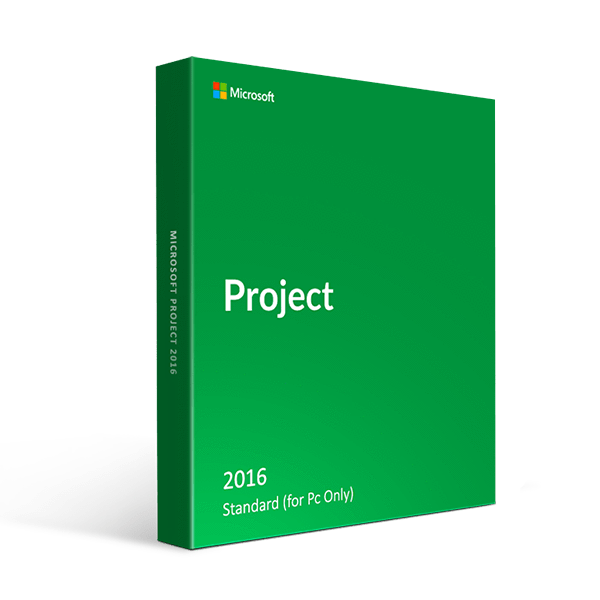 Microsoft Project Standard 2016 (Pc Only)