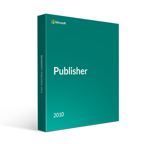 Microsoft Microsoft Publisher 2010 1 Pc