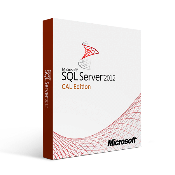 Microsoft Sql Server 2012 Cal Edition