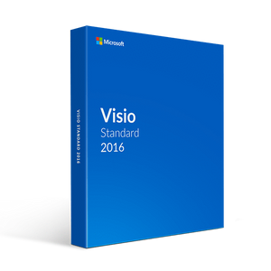 Microsoft Microsoft Visio Standard 2016 (For Pc Only)