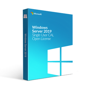 Microsoft Microsoft Windows Server 2019 Single User Cal Open License