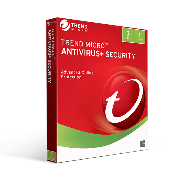 Microsoft Trend Micro Premium Security 2016 1 Year 3 Devices