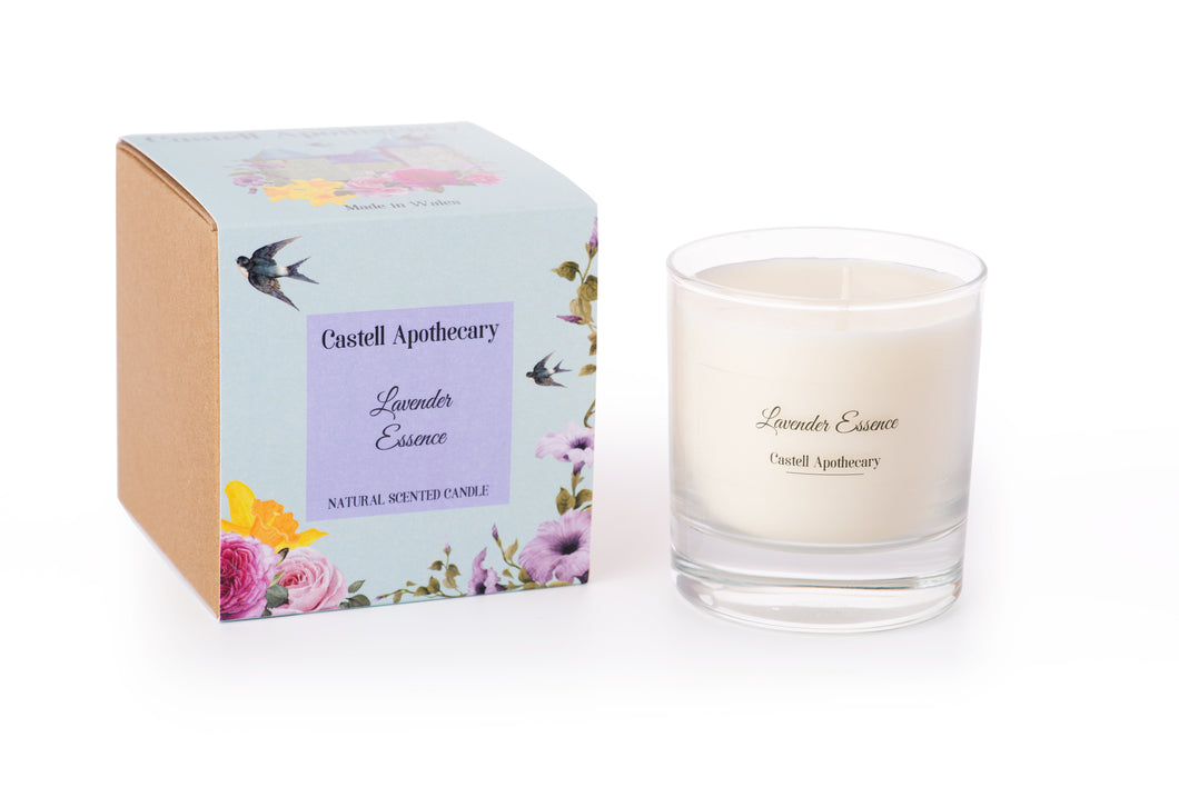 Castell Apothecary Lavender Essence Candle in a Glass