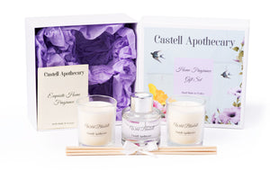 Castell Apothecary Wild Bluebell Home Fragrance Selection