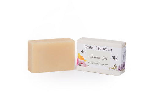 Castell Apothecary Chamomile Unscented Natural Handmade Soap