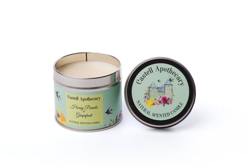 Honey Pomelo & Grapefruit Candle in a Tin