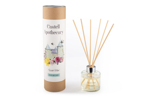 Castell Apothecary Wild Mint Reed Diffuser