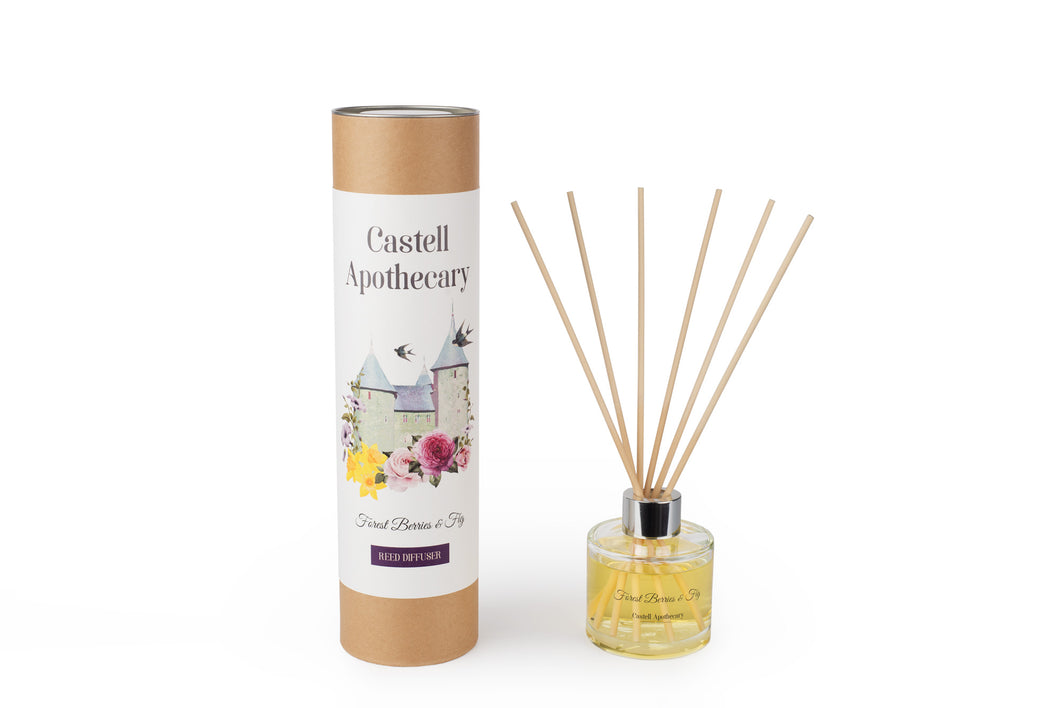 Castell Apothecary Forest Berries & Fig Reed Diffuser