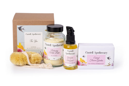 Castell Apothecary For You Natural Relaxing Bath Treat