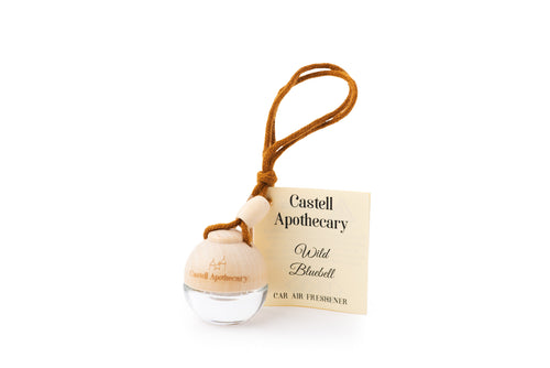 Castell Apothecary Wild Bluebell Car Air Freshener