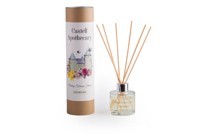 Castell Apothecary Vintage Tobacco Flower Reed Diffuser