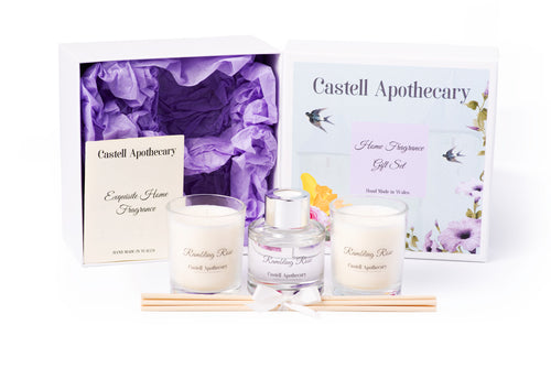 Castell Apothecary Rambling Rose Home Fragrance Selection