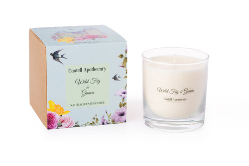 Castell Apothecary Wild Fig & Guava Candle in a Glass