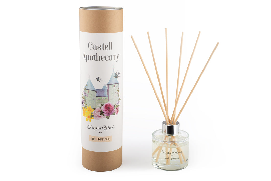 Castell Apothecary Fragrant Woods Reed Diffuser