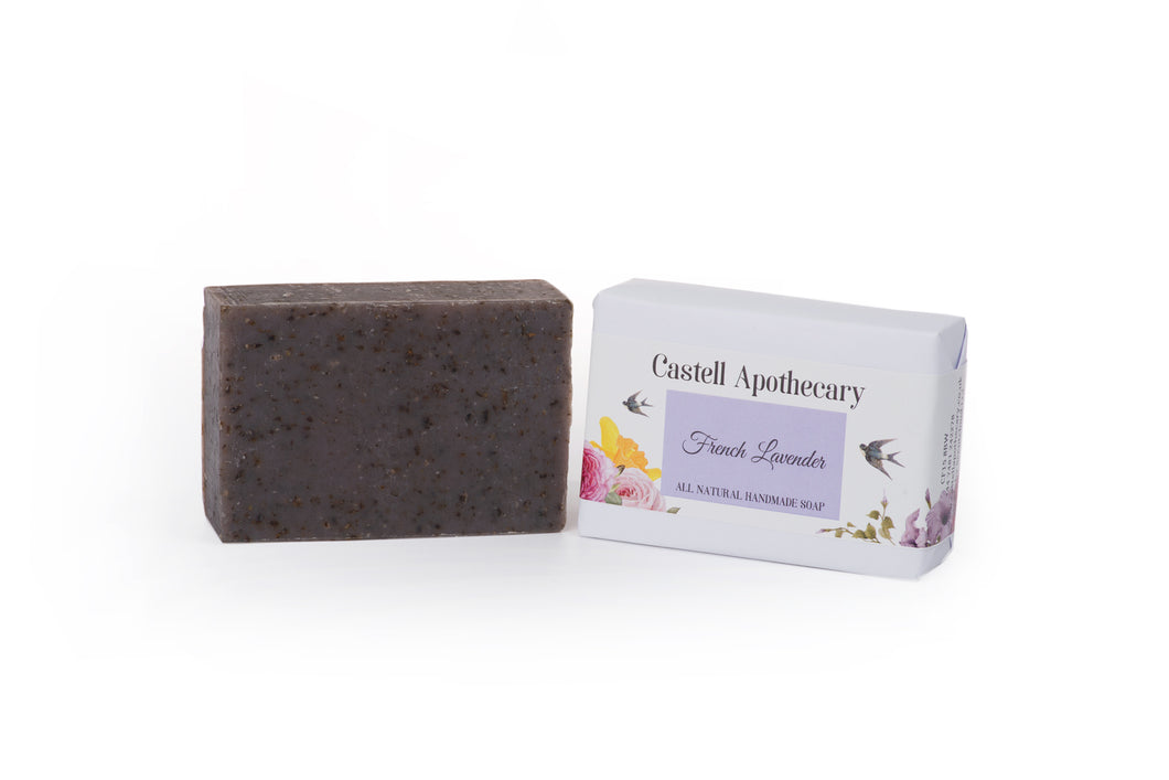 Castell Apothecary French Lavender Natural Handmade Soap
