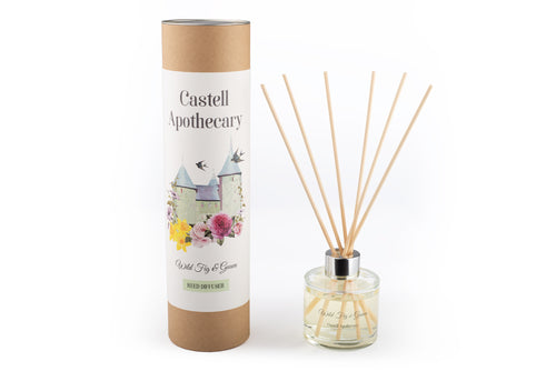 Castell Apothecary Wild Fig & Guava Reed Diffuser