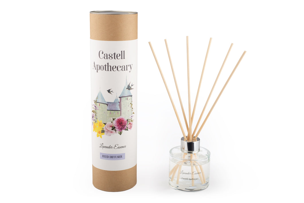 Castell Apothecary Lavender Essence Reed Diffuser