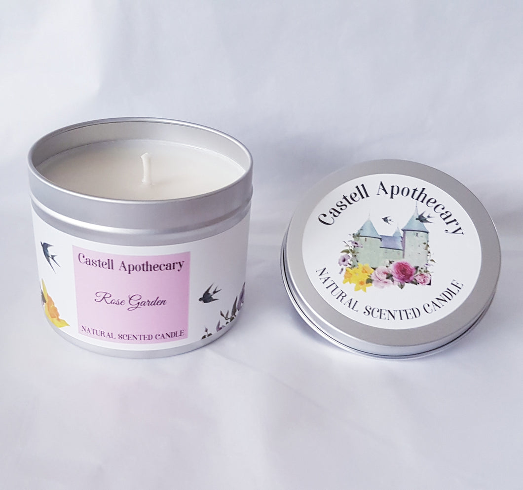 Rose Garden Candle in a Tin