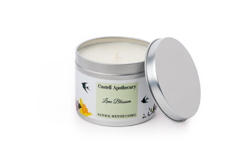 Lime Blossom Candle in a tin