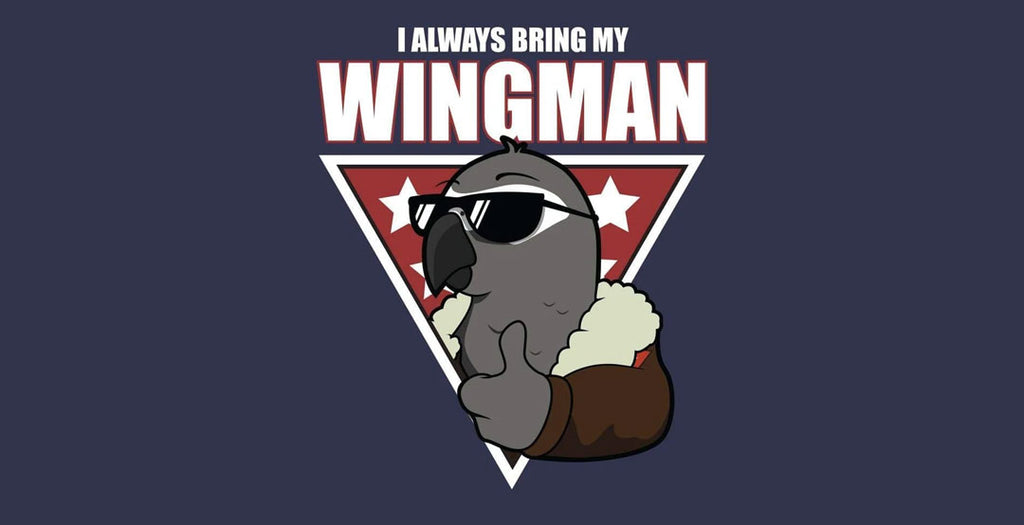 New Design: I always bring by wingman