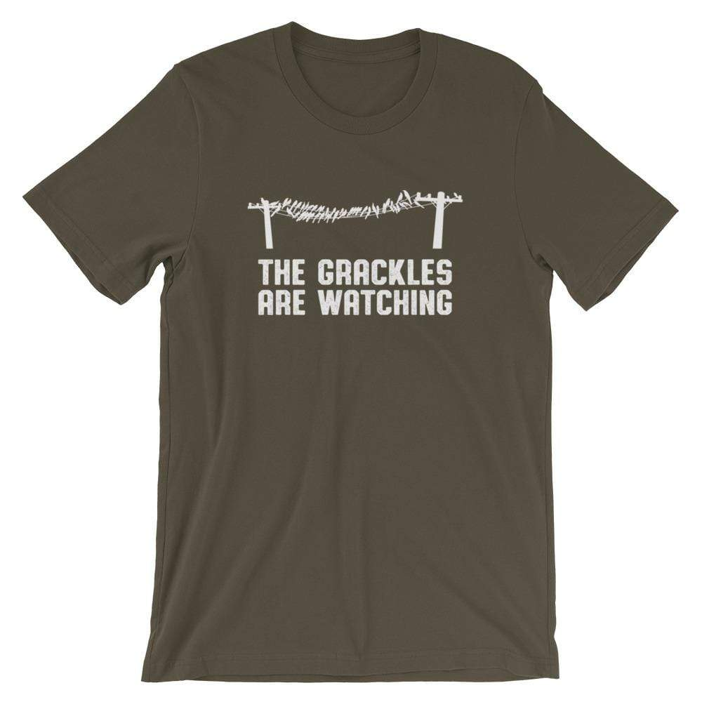 Birdwear Army / S The Grackles Are Watching Shirt