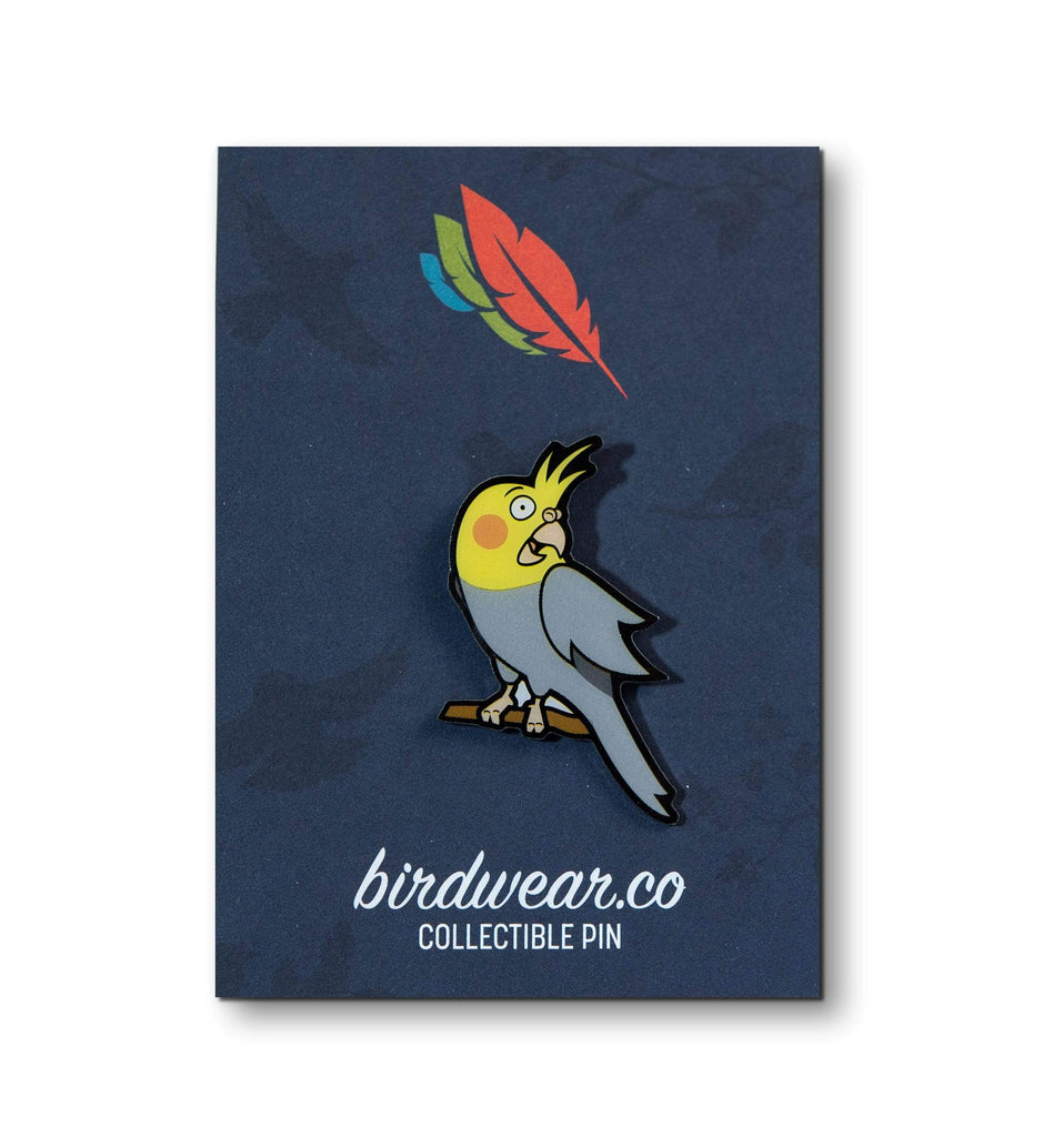 Birdwear Cockatiel Collectible Pin Shirt