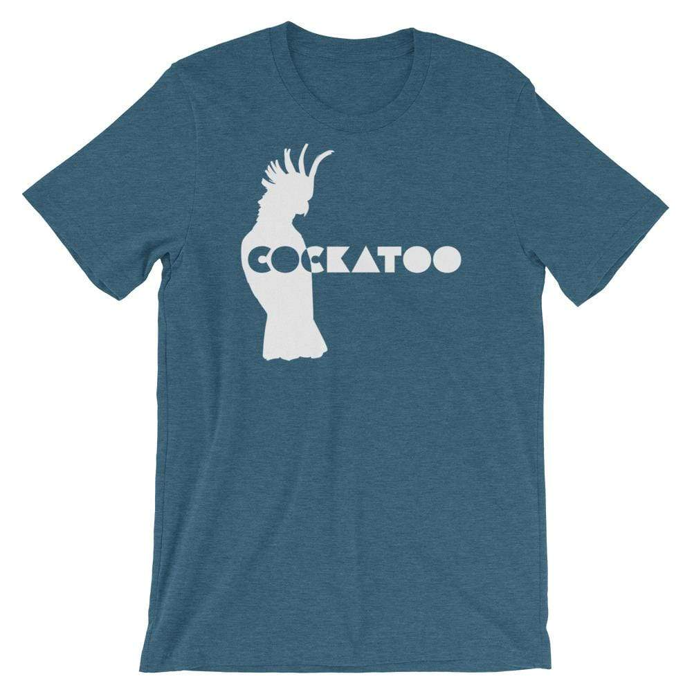Birdwear Heather Deep Teal / S Cockatoo Silhouette Shirt