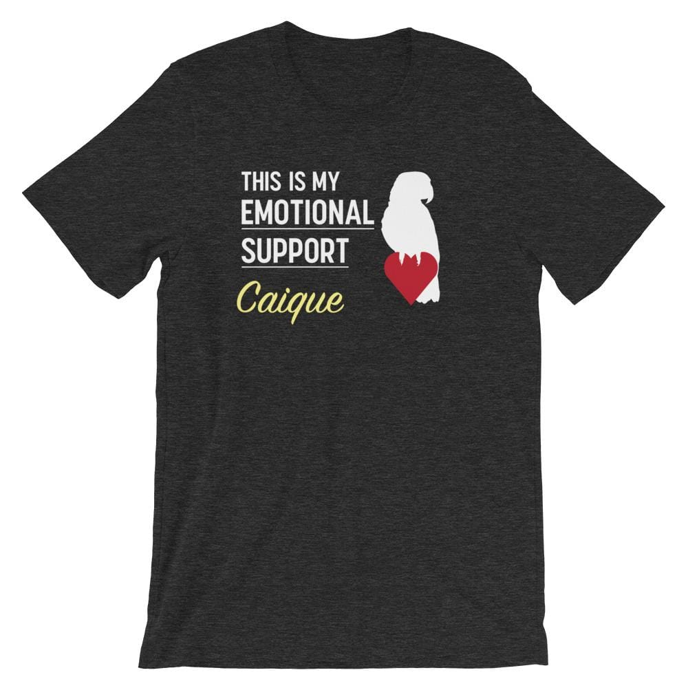 Birdwear XS This is my Emotional Support Caique Parrot Shirt