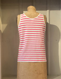 Mousqueton Pink Striped Swing Tank