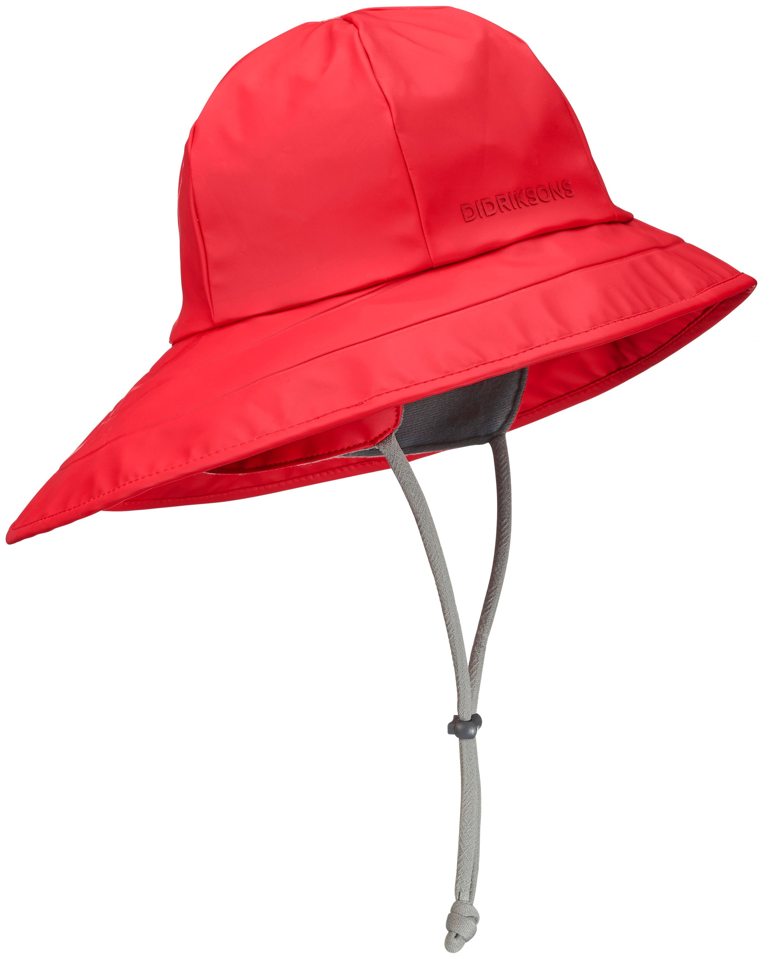 red sou wester hat waterproof by Didriksons