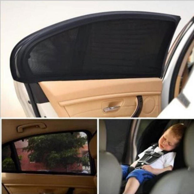 2Pcs Car Sun Shade UV Protection Car Curtain