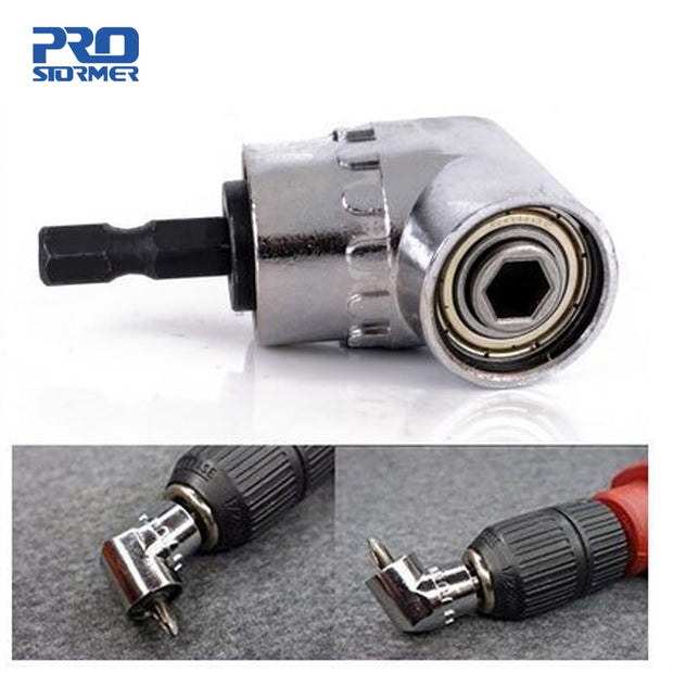 1/4 Magnetic Connector Adjustable 105 Degree Angle Driver Screwdriver