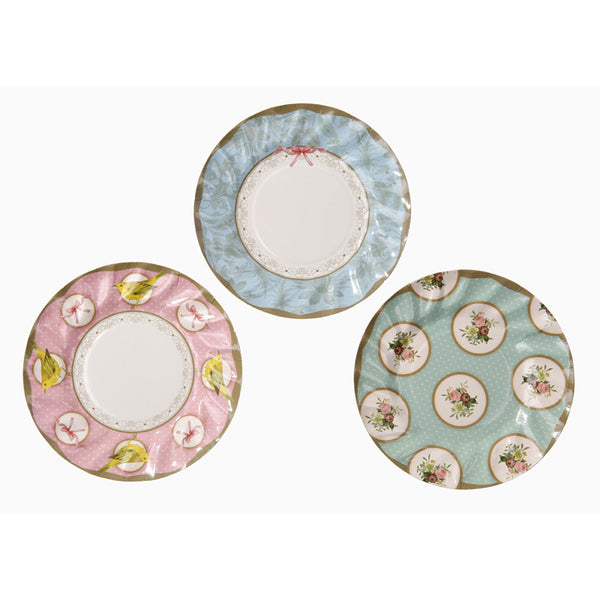 Frills & Frosting party plates