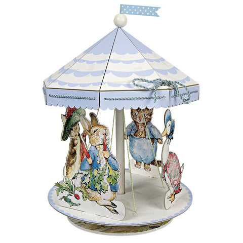 Peter Rabbit table centrepiece