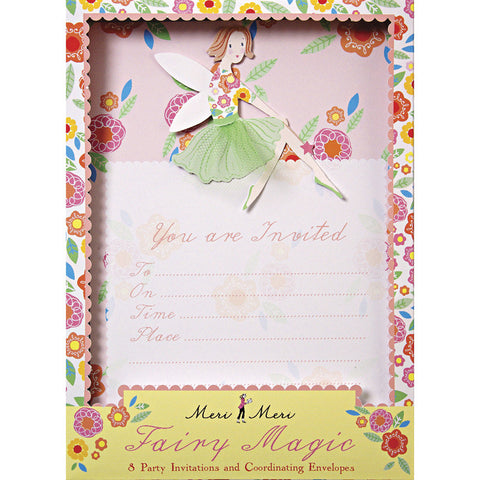 Fairy Magic invitations