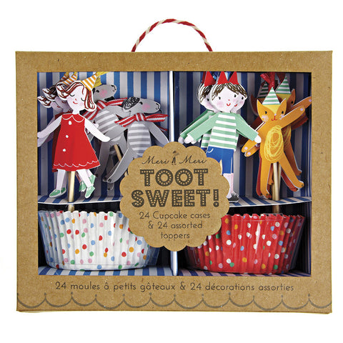 toot sweet children's cupcake kit